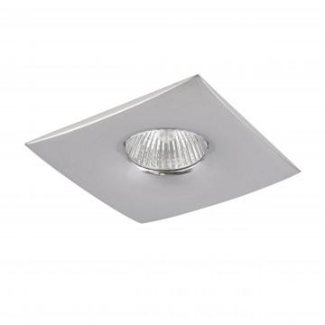 Встраиваемый светильник Lightstar Levigo 010034, 1xGU5.3x50W, хром, металл