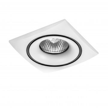 Встраиваемый светильник Lightstar Levigo 010036, 1xGU5.3x50W, белый, металл