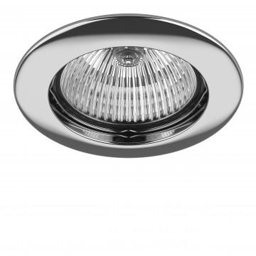 Встраиваемый светильник Lightstar Lega 16 011014, 1xGU5.3x50W, хром, металл
