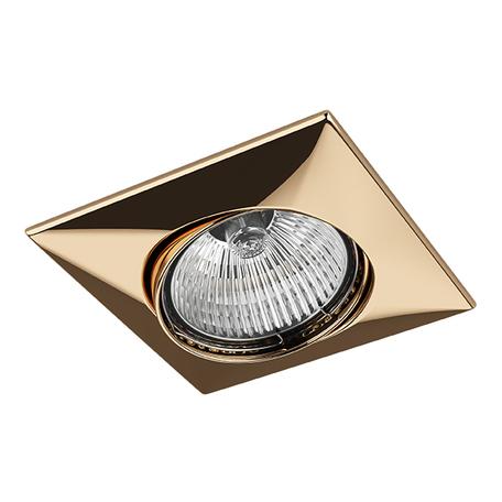 Встраиваемый светильник Lightstar Lega 16 011032, 1xGU5.3x50W, золото, металл