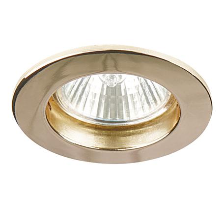 Встраиваемый светильник Lightstar Lega 11 011042, 1xGU5.3x50W, золото, металл