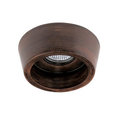 Встраиваемый светильник Lightstar Extra 041019, 1xGU5.3x50W, коричневый, пластик