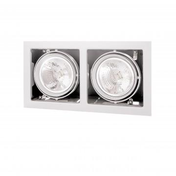 Встраиваемый светильник Lightstar Cardano 214120, 2xG53AR111x50W