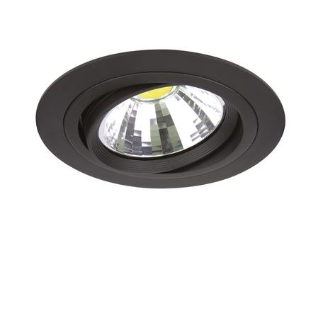 Встраиваемый светильник Lightstar Intero 111 214317, 1xG53AR111x50W, черный, металл