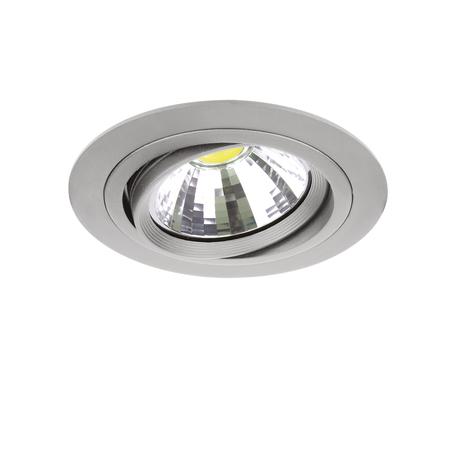 Встраиваемый светильник Lightstar Intero 111 214319, 1xG53AR111x50W, серый, металл