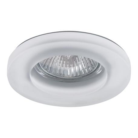 Встраиваемый светильник Lightstar Anello 002240, 1xGU5.3x50W, белый, стекло