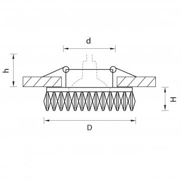 Схема с размерами Lightstar 002534