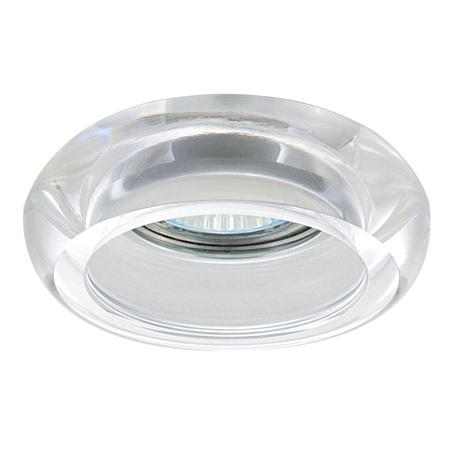 Встраиваемый светильник Lightstar Tondo 006200, 1xGU5.3x50W, прозрачный, стекло