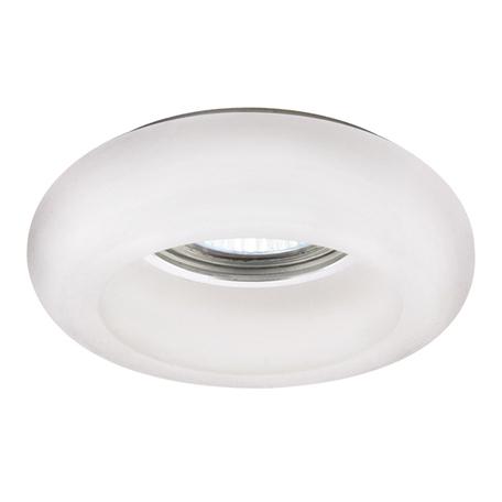 Встраиваемый светильник Lightstar Tondo 006201, 1xGU5.3x50W, белый, стекло