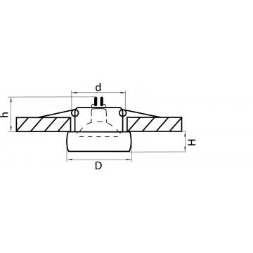 Схема с размерами Lightstar 006201