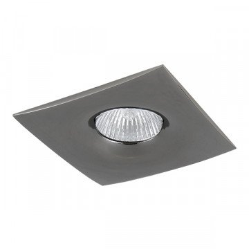 Встраиваемый светильник Lightstar Levigo 010038, 1xGU5.3x50W, черный хром, металл