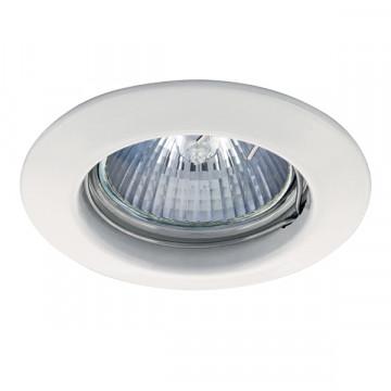 Встраиваемый светильник Lightstar Lega 16 011010, 1xGU5.3x50W, белый, металл