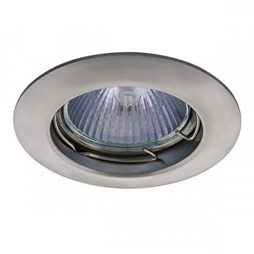 Встраиваемый светильник Lightstar Lega 16 011019, 1xGU5.3x50W, матовый хром, металл
