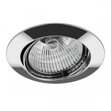 Встраиваемый светильник Lightstar Lega 16 011024, 1xGU5.3x50W, хром, металл