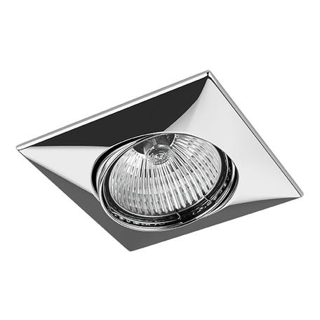 Встраиваемый светильник Lightstar Lega 16 011034, 1xGU5.3x50W, хром, металл