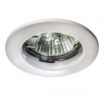 Встраиваемый светильник Lightstar Lega 11 011040, 1xGU5.3x50W, белый, металл