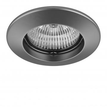 Встраиваемый светильник Lightstar Lega 11 011049, 1xGU5.3x50W, матовый хром, металл