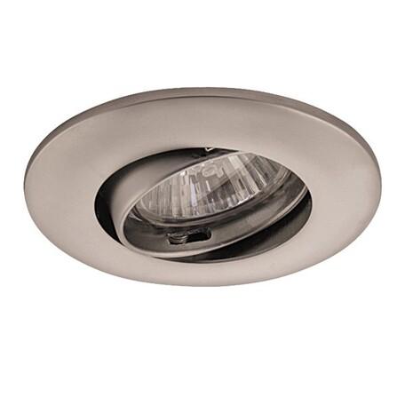 Встраиваемый светильник Lightstar Lega 11 011059, 1xGU5.3x50W, матовый хром, металл