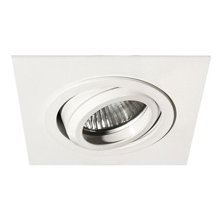 Встраиваемый светильник Lightstar Singo 011611, 1xGU5.3x50W, белый, металл