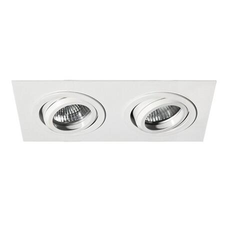 Встраиваемый светильник Lightstar Singo 011612, 1xGU5.3x50W, белый, металл
