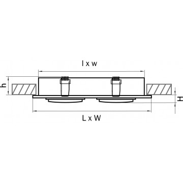 Схема с размерами Lightstar 011612