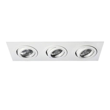 Встраиваемый светильник Lightstar Singo 011613, 1xGU5.3x50W, белый, металл