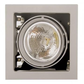 Встраиваемый светильник Lightstar Cardano 214117, 1xG53AR111x50W, сталь, металл