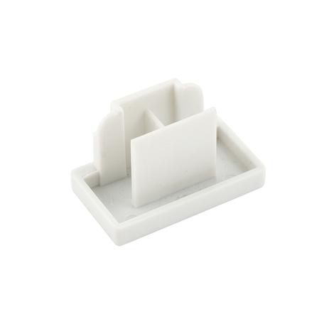 Концевая заглушка для шинопровода Denkirs DK Track White TR1107-WH, белый, пластик