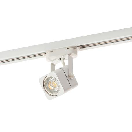 Светильник с регулировкой направления света для шинной системы Denkirs DK6003-WH, 1xGU10x50W, белый, металл