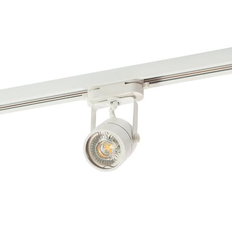 Светильник с регулировкой направления света для шинной системы Denkirs DK620 DK6005-WH, 1xGU10x50W, белый, металл