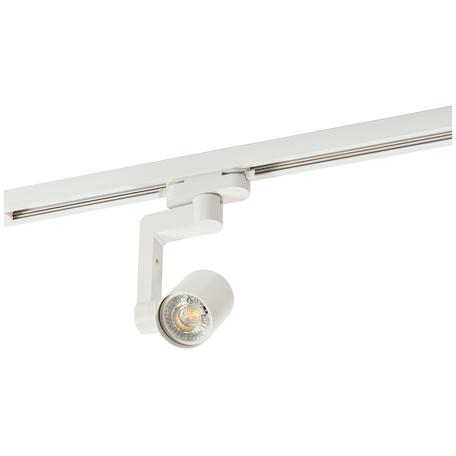 Светильник с регулировкой направления света для шинной системы Denkirs DK620 DK6006-WH, 1xGU10x50W, белый, металл