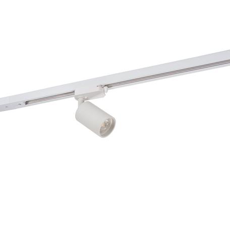 Светильник с регулировкой направления света для шинной системы Denkirs DK6201-WH, 1xGU10x50W, белый, металл