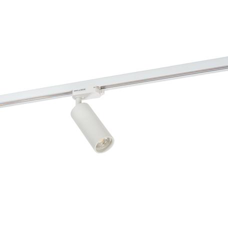 Светильник с регулировкой направления света для шинной системы Denkirs DK6202-WH, 1xGU10x50W, белый, металл
