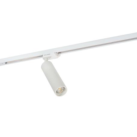 Светильник с регулировкой направления света для шинной системы Denkirs DK6203-WH, 1xGU10x50W, белый, металл