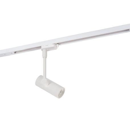 Светильник с регулировкой направления света для шинной системы Denkirs DK6205-WH, 1xGU10x50W, белый, металл