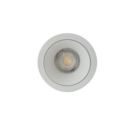 Встраиваемый светильник Denkirs DK2026-WH, 1xGU10x50W, белый, металл