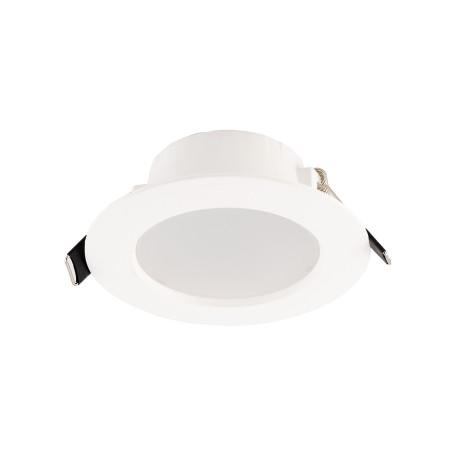 Встраиваемый светодиодный светильник Denkirs DK3046/7/8/9 DK3048-WH, LED 7W, белый, пластик