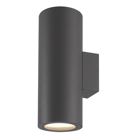 Настенный светильник Mantra Volcano 6482, IP54, черный, металл, стекло