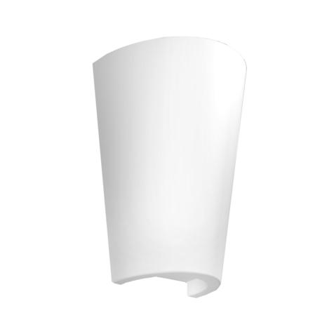 Настенный светильник Mantra Teja 6508, IP54, белый, металл, пластик