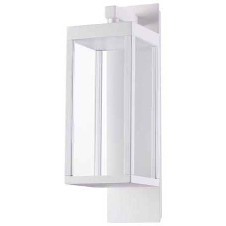 Настенный светодиодный светильник Novotech Street Ivory LED 358119, IP54, LED 13W 4100K 650lm, белый, металл, металл со стеклом
