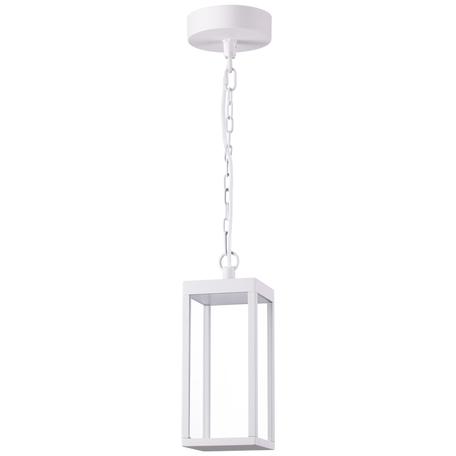 Подвесной светодиодный светильник Novotech Ivory LED 358122, IP54, LED 10W 4100K 780lm, белый, металл, стекло