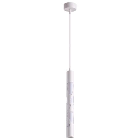Подвесной светодиодный светильник Novotech Over Arte 358131, LED 20W 4000K 800lm, белый, металл, металл с пластиком