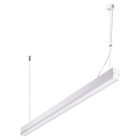 Подвесной светодиодный светильник Novotech Over Iter 358159, LED 36W 4000K 2880lm, белый, металл