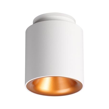 Потолочный светодиодный светильник Novotech Oro 358158, LED 9W 3000K 600lm, белый, металл