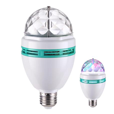 Светодиодная лампа Novotech 358135 E27 9W RGB 220V, гарантия 2 года