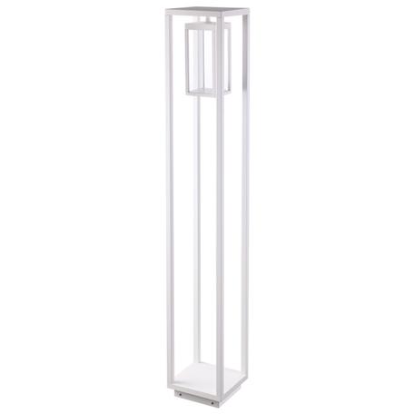 Уличный светодиодный фонарь Novotech Ivory LED 358121, IP54, LED 13W 4100K 800lm, белый, металл, металл со стеклом/пластиком