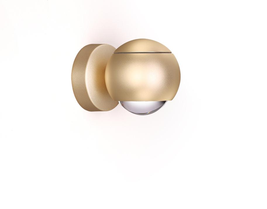 Настенный светодиодный светильник с регулировкой направления света Odeon Light L-Vision Elon 3915/9WL, LED 8,5W 4000K 400lm, матовое золото, металл - фото 2