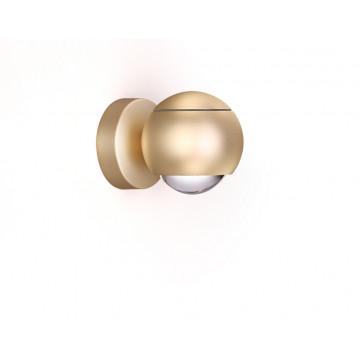 Настенный светодиодный светильник с регулировкой направления света Odeon Light L-Vision Elon 3915/9WL, LED 8,5W 4000K 400lm, матовое золото, металл - миниатюра 3