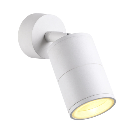 Настенный светильник с регулировкой направления света Odeon Light Hightech Corsus 4208/1C, IP54, 1xGU10x50W, белый, металл
