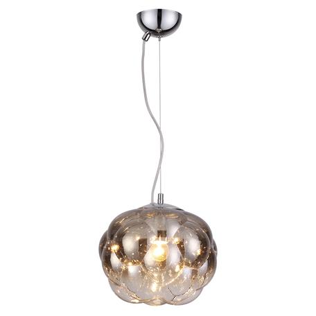 Подвесной светильник Odeon Light Pendant Pecola 4701/1, 1xE27x40W, хром, серебро, металл, стекло